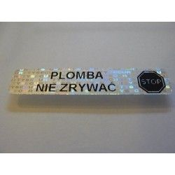 Plomba VOID HOLOGRAM 55x12 mm